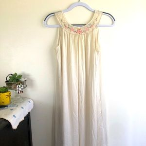 Vintage silky night gown